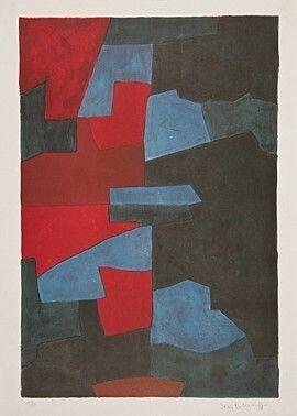 Litografia Poliakoff -