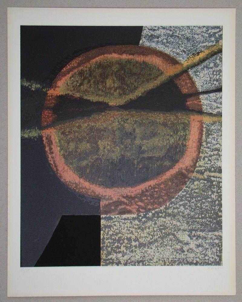 Serigrafia Piaubert - Composition V.-1964