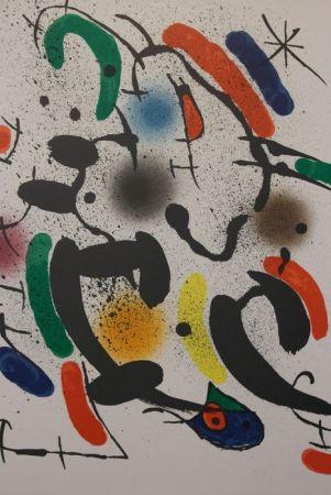 Litografia Miró - Composition Xiii