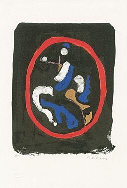Litografia Marini - Composizione