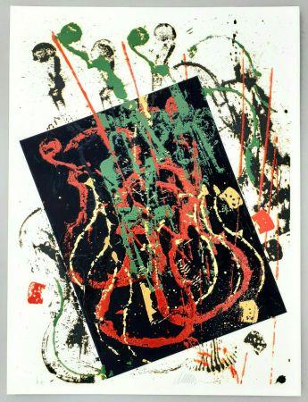 Serigrafia Arman - Composizione
