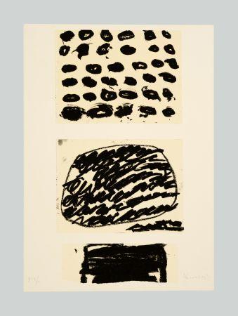 Litografia Kounellis - Composizione