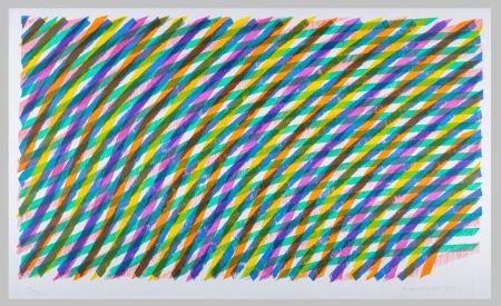 Litografia Dorazio - Composizione