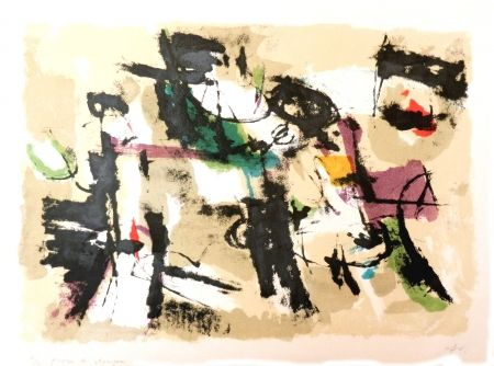 Litografia Afro - Composizione