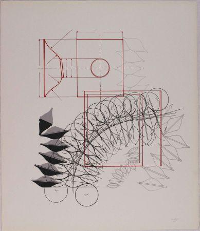 Litografia Bonalumi - Composizione