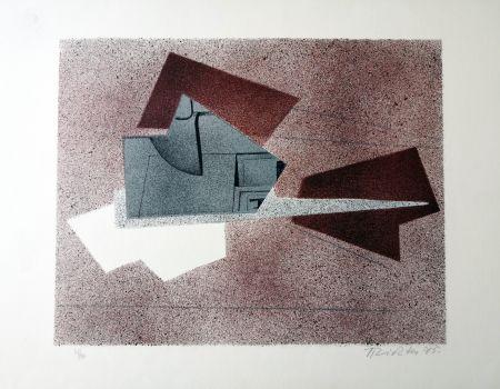 Litografia Richter - Composizione