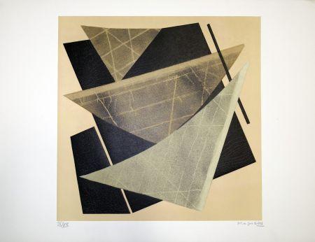 Litografia Magnelli - Composizione 1
