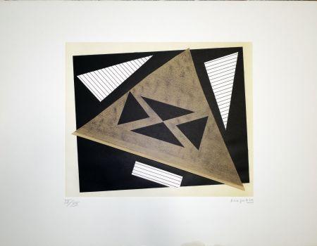 Litografia Magnelli - Composizione 2