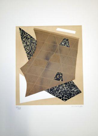Litografia Magnelli - Composizione 3