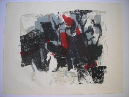 Litografia Afro - Composizione II