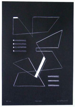 Serigrafia Badiali - Composizione (tavola 10)