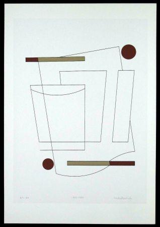 Serigrafia Badiali - Composizione (tavola 3)