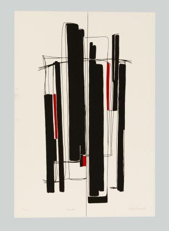 Serigrafia Badiali - Composizione (tavola 8)