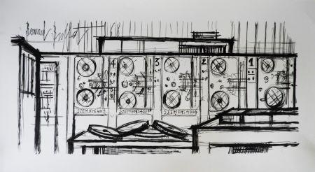 Litografia Buffet - Computer, Siemens,