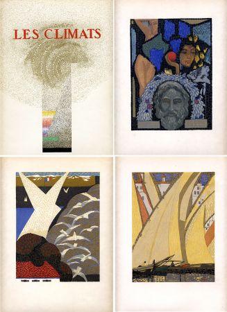 Libro Illustrato Schmied - Comtesse de Noailles : LES CLIMATS. Société du Livre Contemporain (1924).