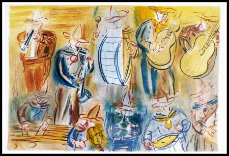 Litografia Dufy - CONCERT DES ANGES