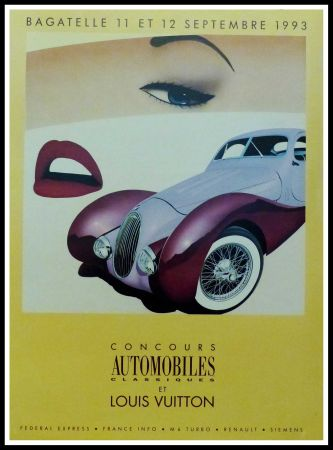 Manifesti Razzia - CONCOURS AUTOMOBILES CLASSIQUES