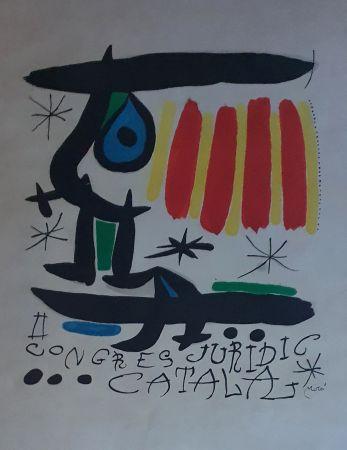 Litografia Miró - Congreso Juridico Catalan
