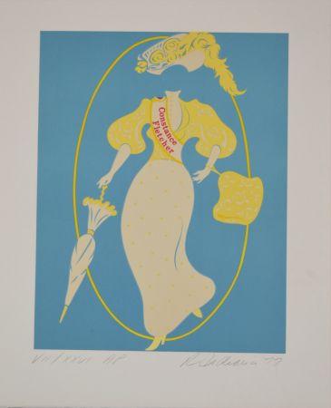 Litografia Indiana - Constance Fletcher - Mother of us all portfolio