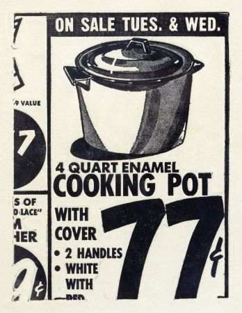 Acquaforte Warhol - Cooking Pot 1