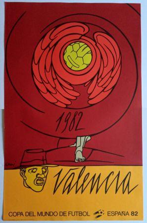 Manifesti Adami - Copa del Mundo 1982 - Valencia
