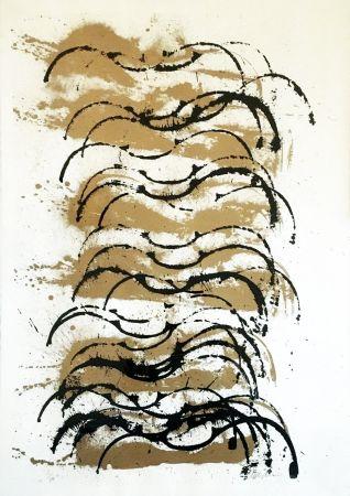 Serigrafia Arman - Corps de femme