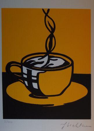 Serigrafia Lichtenstein - Coup Of Coffee
