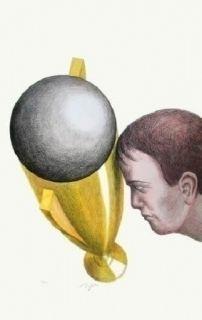 Litografia Topor - Coupe Du Monde 82