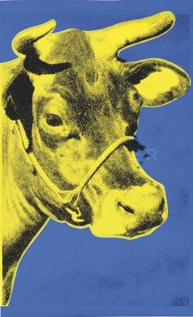 Serigrafia Warhol - Cow (Fs Ii.12)