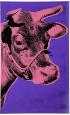Serigrafia Warhol - Cow II