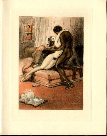 Libro Illustrato Icart - CRÉBILLON, Fils : LE SOPHA.23 eaux-fortes originales en couleurs de Louis Icart.