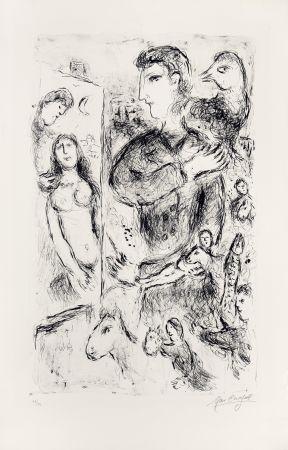 Litografia Chagall - Création