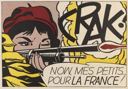 Litografia Lichtenstein - Crak! (Corlett Ii.2.)
