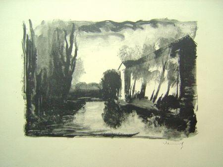 Litografia Vlaminck - Crepuscule