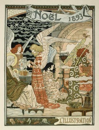 Litografia Grasset - Cuisine des anges / Angels' Kitchen