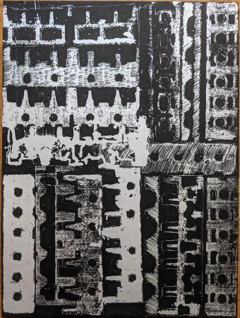 Litografia Arman - Culasses sciées