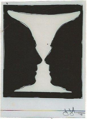 Litografia Johns - Cup two Picasso
