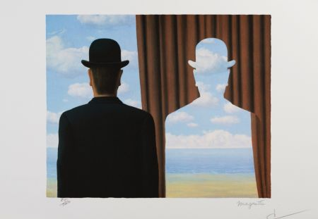 Litografia Magritte - Décalcomanie (Decalcomania)