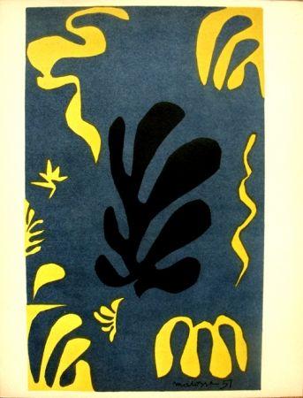 Litografia Matisse - Découpages Pour Le Xx E  Siecle
