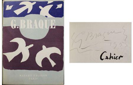 Non Tecnico Braque - Dédicace / dessin pour Cahier de Georges Braque 1917-1947