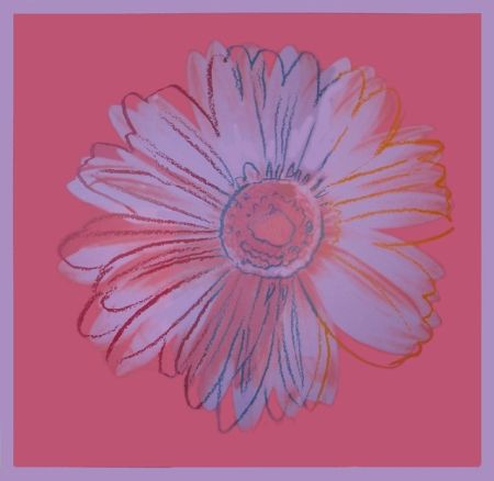Serigrafia Warhol - Daisy, ca