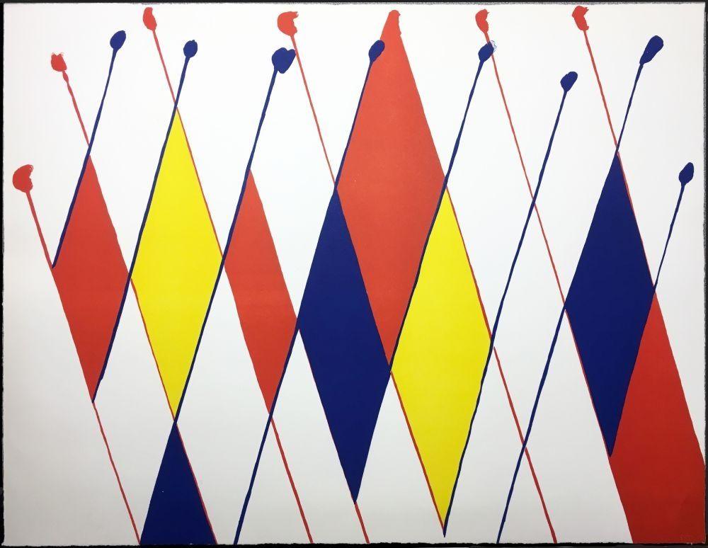 Litografia Calder -