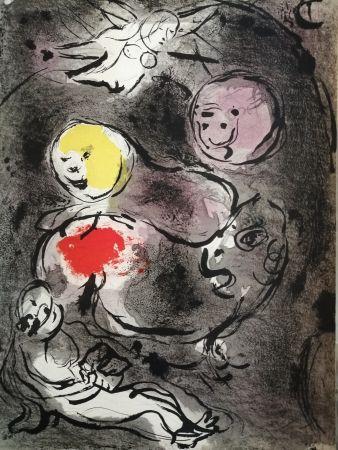 Litografia Chagall - Daniel avec les lions