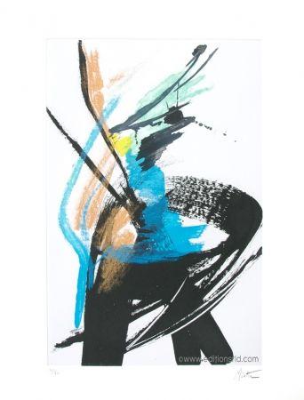 Acquatinta Miotte - Dans le vent