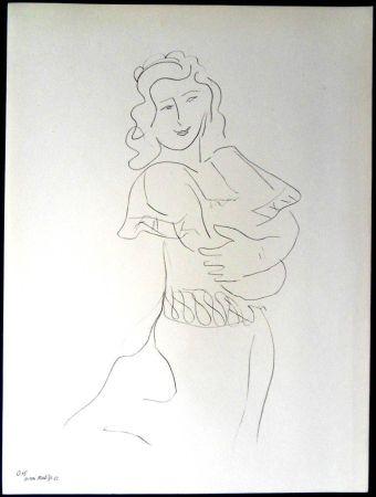 Litografia Matisse - Danseur