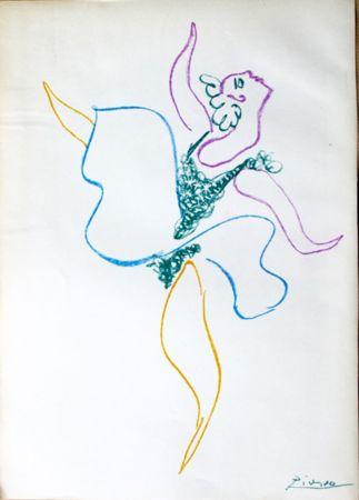 Litografia Picasso -  Danseuse
