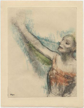 Acquaforte E Acquatinta Degas - Danseuse (étude, vers 1878-1880)