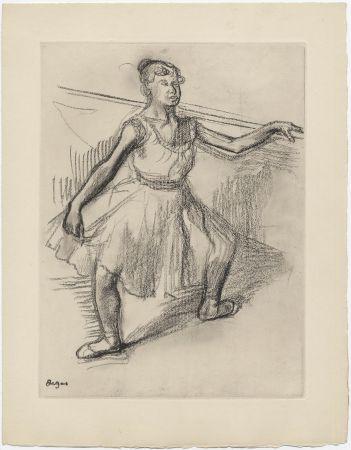 Acquaforte Degas - Danseuse (étude, vers 1878)