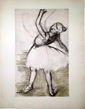 Acquaforte E Acquatinta Degas - Danseuse (étude, vers 1880)