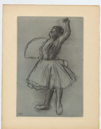 Acquaforte E Acquatinta Degas - Danseuse (étude, vers 1890)
